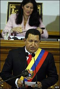 Hugo Chávez en la Asamblea Nacional, 15 de agosto de 2007