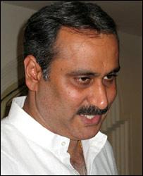 Health Minister Ramadoss (Pic: Geeta Pandey)