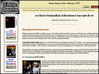 Television Obscurities