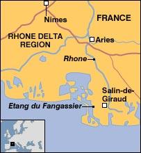 Rhone Delta region