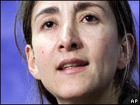 Ingrid Betancourt (2001 file pic)