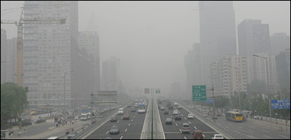 The World Bank says 16 of the world's 20 most polluted cities are in China - 2008 Olympic Games host Beijing is in 28th place