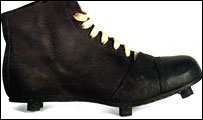 Ancient football boot