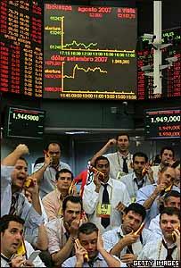 Bolsa de Sao Paulo, Brasil