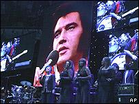 Elvis tribute concert