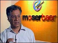 Moser Baer's Boss Harish Dayani