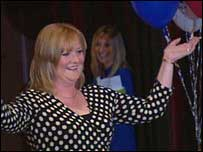 Euromillions winner Angela Kelly