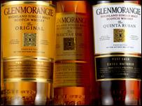 Glenmorangie bottles