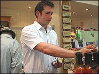 James Toms - shop manager