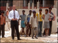Stephen Sackur in India
