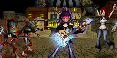 Screenshot from Ragnarawk (Voodoo Boogy)