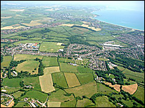 Weymouth aerial picture (Dorset For You website)