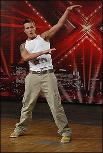 X Factor contestant