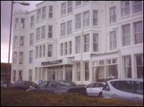 Penhallow Hotel before the fire (pic: Mike Scarfe)