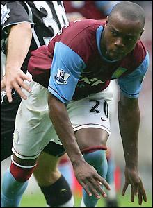 Villa midfielder Nigel Reo-Coker
