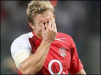 England fly-half Jonny Wilkinson
