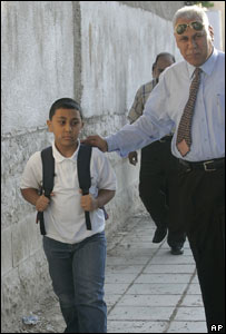 Mustapha Maheir and his father