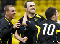 Dave Mackay gave Livingston the lead