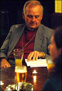The Archbishop at the nightclub event