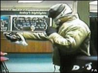 CCTV footage of Jex