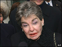 Leona Helmsley. Photo: 2003