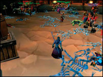 Scene from World of Warcraft