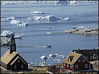 Ilulissat - the third largest town in Greenland