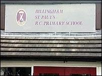 St Paul's RC Primary School, Wolviston