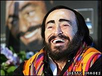 Luciano Pavarotti in 2005