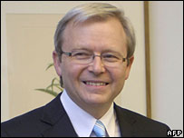 Kevin Rudd, leader of the Australian Labor Party