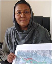 Bamiyan Governor Habiba Sarabi