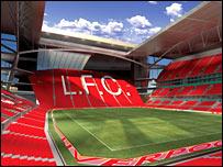 Liverpool's new stadium