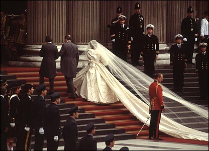 Wedding of Lady Diana Spencer and Prince Charles