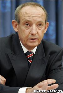 UNFCCC secretary general Yvo de Boer