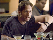 David Duchovny as Hank in Calfornication