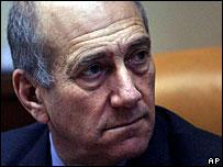 Israeli PM, Ehud Olmert