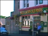 The Famous Old Pines in Wimborne Road, Bournemouth