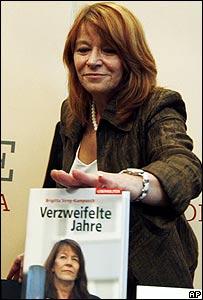 Natascha Kampusch's mother at her book launch