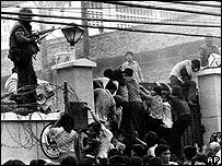 US embassy - fall of Saigon
