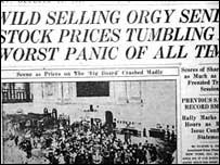 Wall St Crash headline