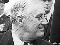 President Franklin Roosevelt led the US during the Great Depression