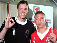 Wayne Hennessey and Freddy Eastwood