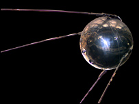 Replica of Sputnik.  Image: Nasa