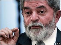 Brazilian President Luis Inacio Lula da Silva
