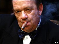 Mel Smith as Churchill at 2006 Edinburgh Festival