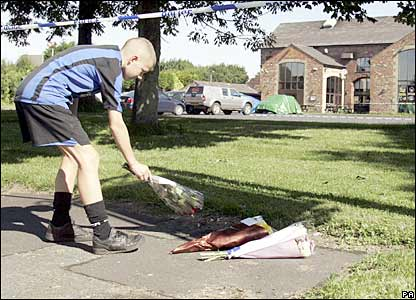 Rhys Jones murder scene