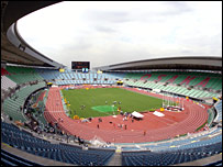 The Nagai stadium in Osaka hosts the Worlds