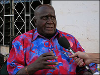 Kenneth Kaunda, independent Zambia's first president