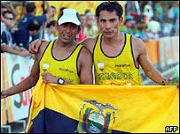 Rolando Saquipay y Jéfferson Pérez