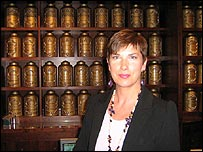 Beverley Aspinall, managing director of Fortnum & Mason